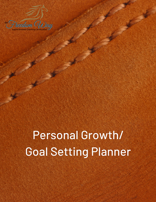Personal Growth And Goal Setting Planner