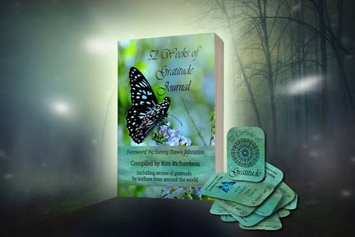 The Gratitude Journal book and card deck bundle