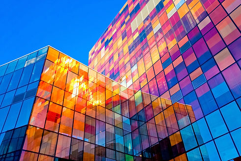 glass fronted office block
