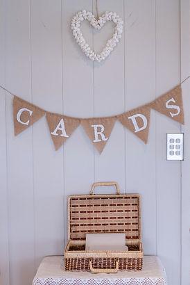 card box on display under bunting.jpg