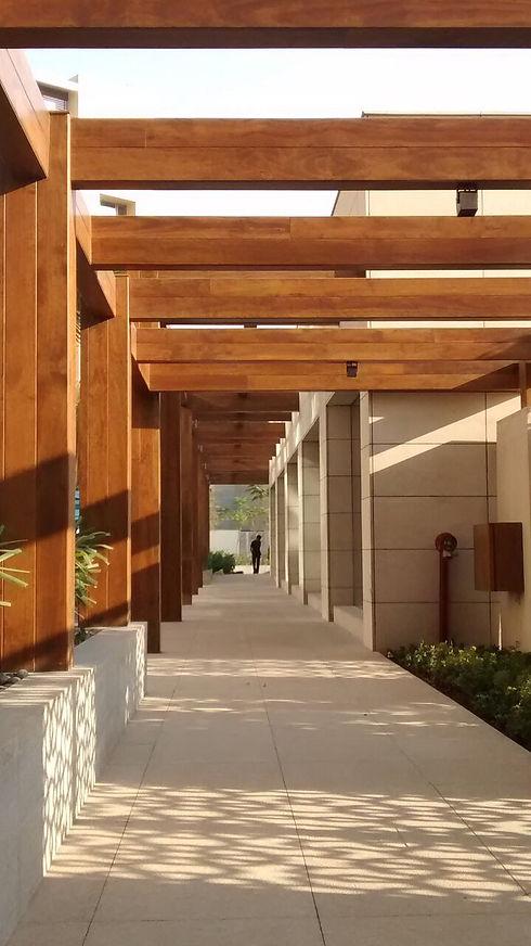 Accoya Wood Structure