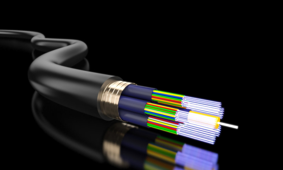 A Fibre Optic Cable