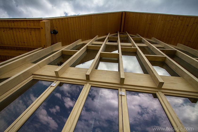 Accoya Wood External Building Framework