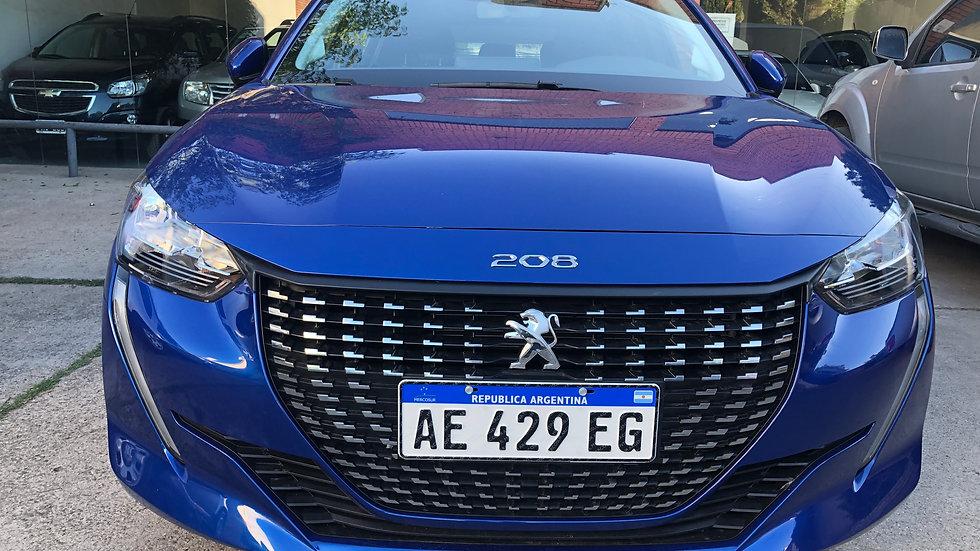 Peugeot Nuevo 208 Allure 1.6 MT