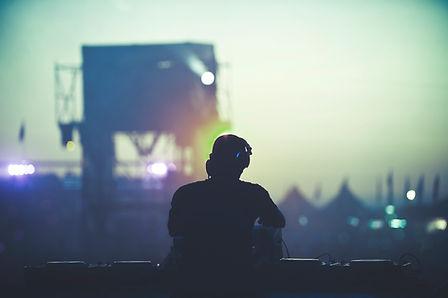 DJ vor Masse