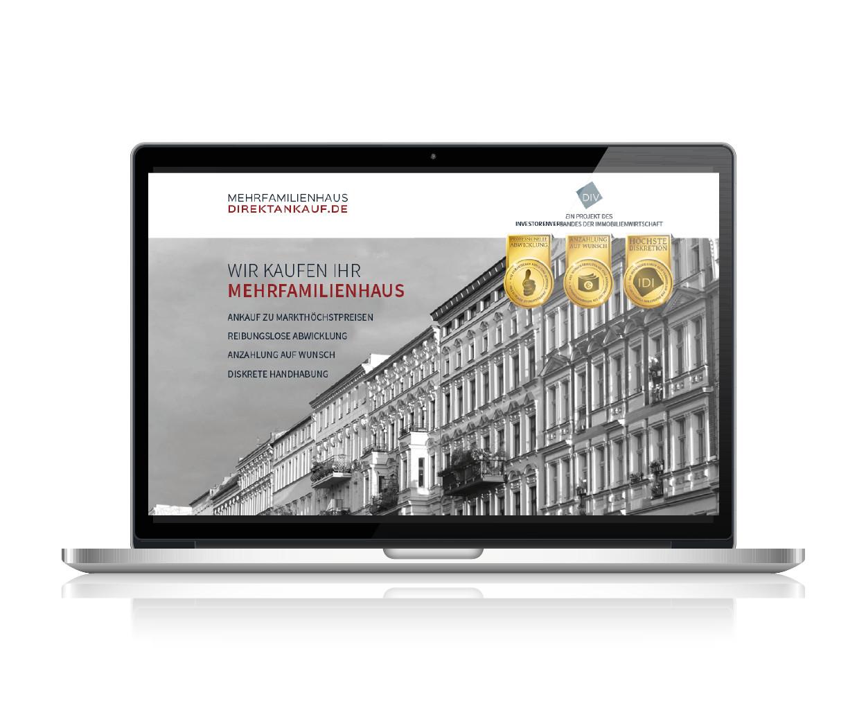 Immobilienvermittlung Neugestaltung