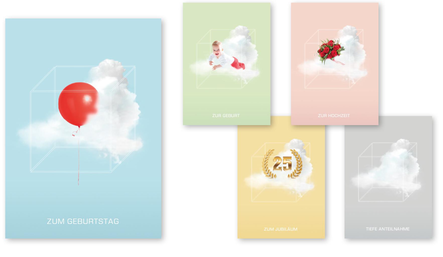 Grußkarten Serie