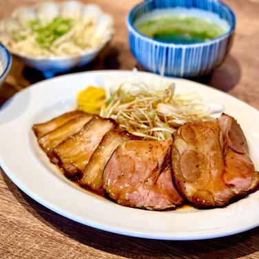 焼豚食堂 みなみ様 焼豚定食