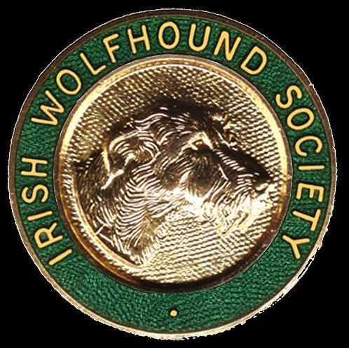 Irish Wolfhound Society Pin Badge