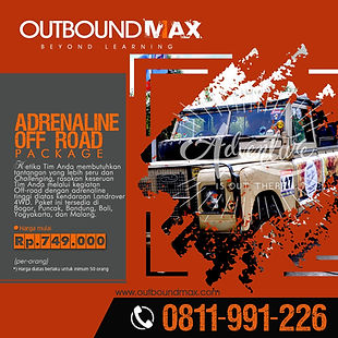 Jasa Outbound Training - Product Adrenal