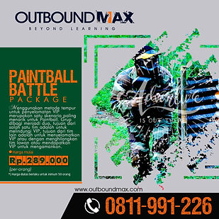 Jasa Outbound Training - Product Paint B