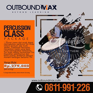 Jasa Outbound Training - Product Percuss