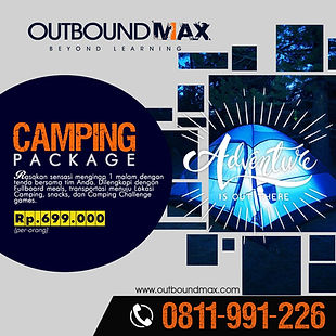 Jasa Outbound Training - Product Camping