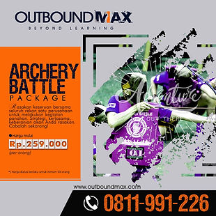 Jasa Outbound Training - Product Archery
