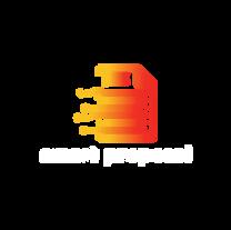 Logo et typo blanche