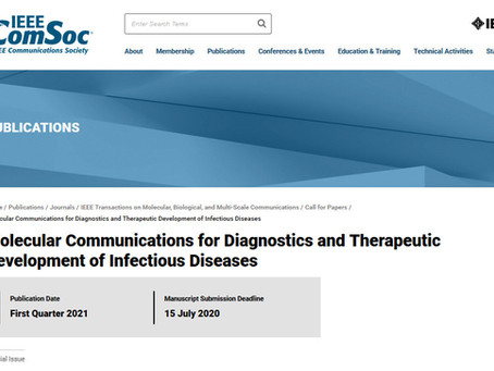 Molecular Communications for modeling the propagation of e.g. Coronavirus