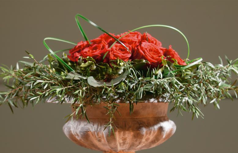 Preserved flower bouquet