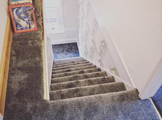 Watford Attic Hall Stairs