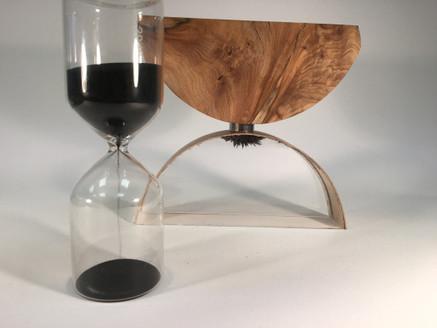 Walnut Desk Sculpture
