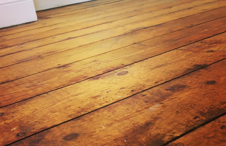 Restored Floorboards