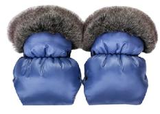 QUALI HAND MUFFS- blue