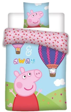 """PEPPA PIG - SUMMER ""  Toddler Bedding set"