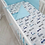 Thumbnail: Cot Bedding Set-Blue Race