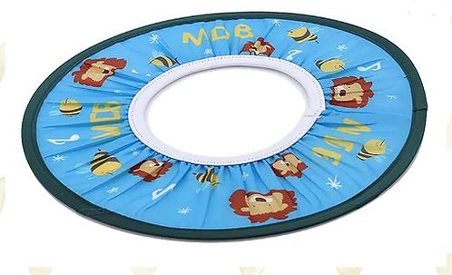 Elastic Waterproof Shampoo Eye Shield -blue