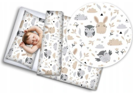 """FOREST FRIENDS"" Cot bedding set"
