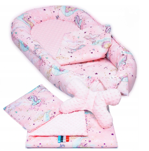 PINK UNICORN- Baby Nest Set - 5 Pcs