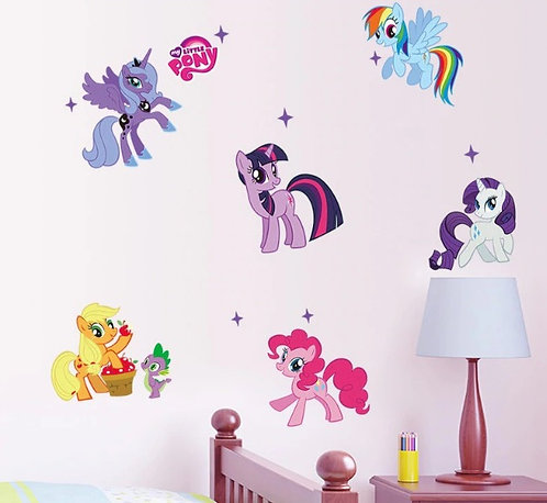 Decowall - wall stickers - My Little Pony