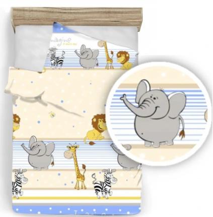 """""""SAFARI"""" Toddler Bedding set"""