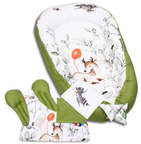 NEW EDITION GREEN Baby Nest Set - 5 Pcs