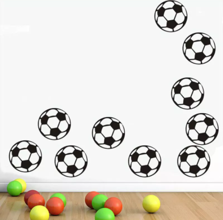 "Decowall "" Football"" wall stickers"