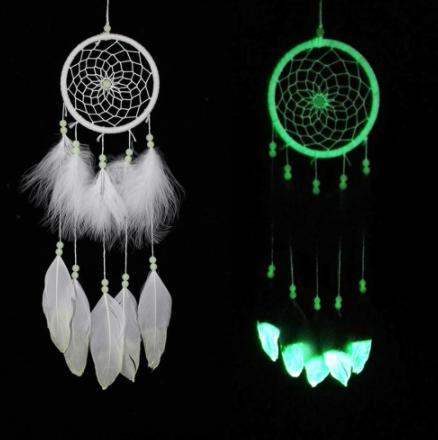 White Luminous Dreamcatcher