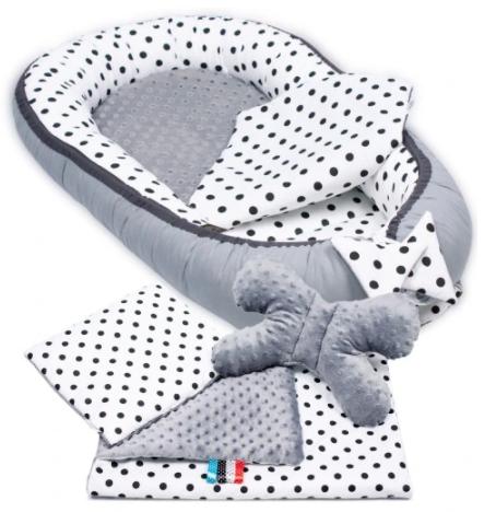 TINY DOTS Baby Nest Set - 5 Pcs