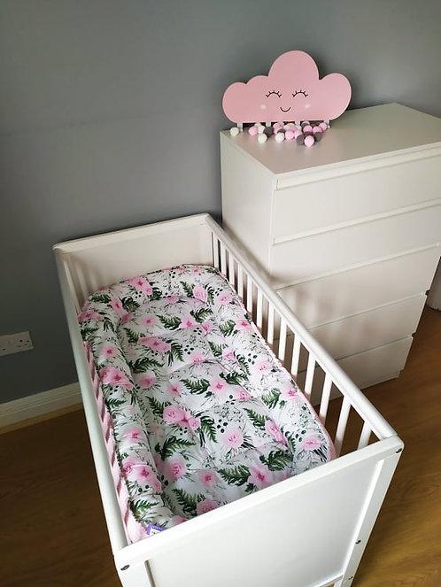 Pink Garden Baby Nest  XXL