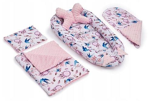 JUKKI FEATHERS - Baby Nest Set - 5 Pcs