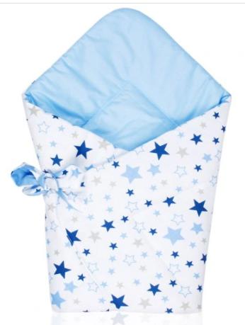 swaddle/wrap - blue stars