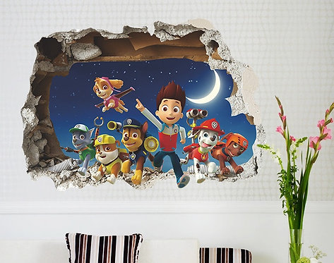 Decowall - wall stickers - Paw Patrol