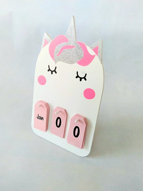My First Calendar - Unicorn