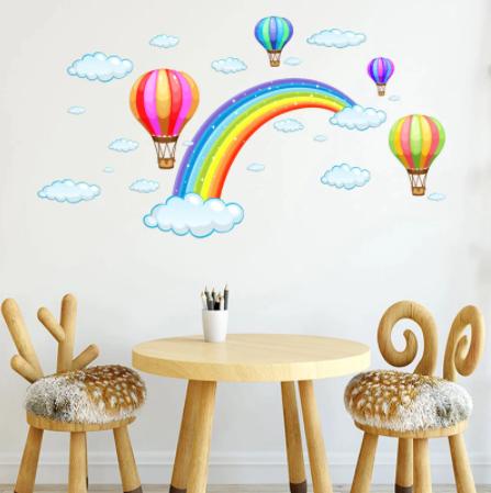 "Decowall "" Rainbow "" wall sticker"