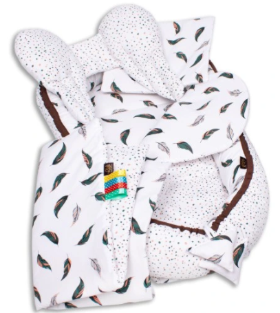 PEACOCK'S FEATHERS Baby Nest Set - 5 Pcs