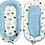 Thumbnail: PCS SLEEPING POD/NEST SET-BLUE CROWNS