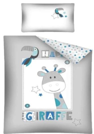 """GIRAFFE"" Toddler Bedding set"