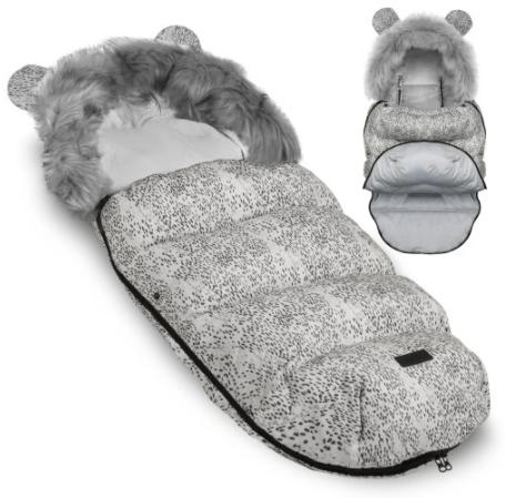 TEDDY BEAR footmuff -  POPPY