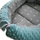 Thumbnail: Baby Nest Set - grey stars / blue minky