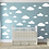 "Thumbnail: Decowall "" clouds"" wall stickers"