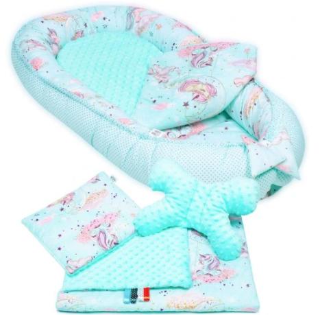 TURQUISE UNICORN- Baby Nest Set - 5 Pcs
