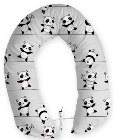 Body Support Pillow/ Nursing Pillow -Panda